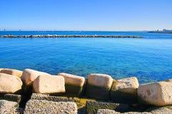 Panoramic view of Bari. Puglia. Italy. Stock Photography