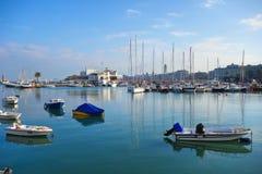 Panoramic view of Bari. Puglia. Italy. Stock Images