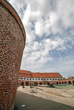 Panoramic view of the bastion Maria Theresia from Timisoara Stock Images