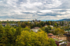Panoramic view of Bern Stock Image