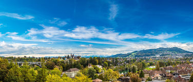 Panoramic view of Bern Stock Photography