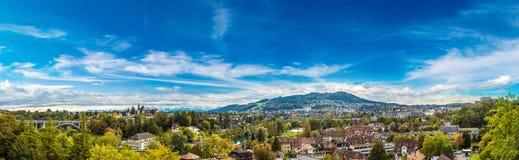 Panoramic view of Bern Stock Photo