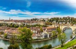 Panoramic view of Bern Stock Photos