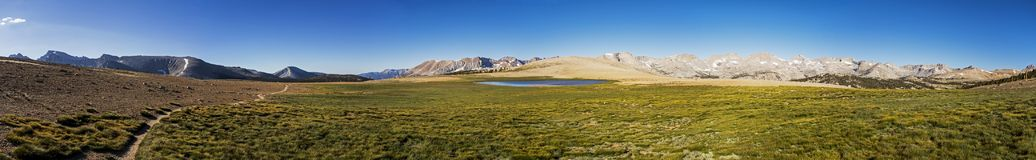 Bighorn Plateau Panorama, Sequoia National Park, California royalty free stock images