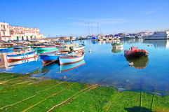 Panoramic view of Bisceglie. Puglia. Italy. Royalty Free Stock Photos