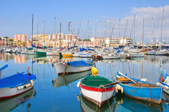 Panoramic view of Bisceglie. Puglia. Italy. Stock Photography