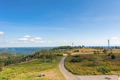 Panoramic view from the Bismarck Tower Stock Photography