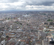 Panoramic view of Bogota royalty free stock photography