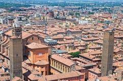 Panoramic view of Bologna. Emilia-Romagna. Italy. Royalty Free Stock Photo