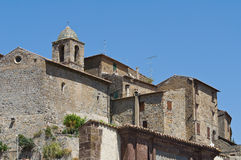 Panoramic view of Bolsena. Lazio. Italy. Stock Image