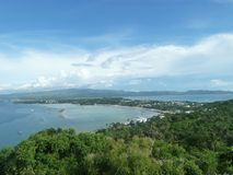 Panoramic view of Boracay Royalty Free Stock Images