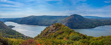 Panoramic view from Breakneck Ridge Stock Photos