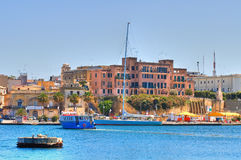 Panoramic view of Brindisi. Puglia. Italy. Stock Photos