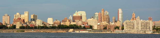 Panoramic view of Brooklyn Stock Image