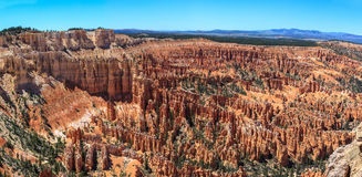 Panoramic view of Bryce Canyon National Park amphitheater. Utah. United States Stock Image