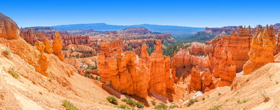 Panoramic view of Bryce Canyon National Park - Utah, USA Stock Photography