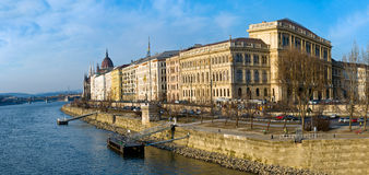 Panoramic view of Budapest Stock Photos