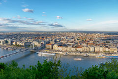 Panoramic view of Budapest Stock Images