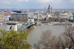Panoramic view of Budapest Royalty Free Stock Image