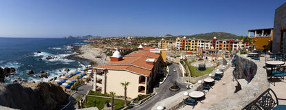 Panoramic view of Cabo San Lucas, Mexico Stock Photography