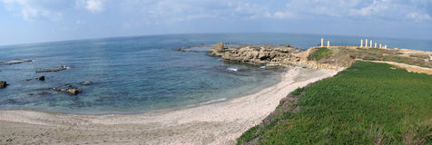 Panoramic view of Caesarea Royalty Free Stock Image