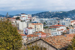 Panoramic view of Cannes, France Royalty Free Stock Photos