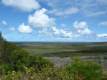 Panoramic view of Cape du Couedic Stock Photography