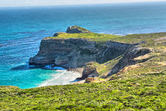 Panoramic view at the Cape of Good Hope Stock Photography