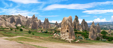 Panoramic view of Cappadocia Stock Photo