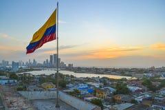Panoramic view of Cartagena Royalty Free Stock Image
