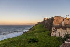Fort Castle St Cristobal stock photo