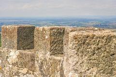 Panoramic view of the castle of Waldenburg Stock Photo