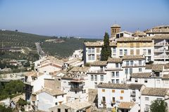 Cazorla village. Panoramic view of cazorla town Stock Image