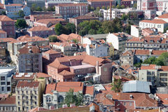 Panoramic view of central Lisbon Royalty Free Stock Photo