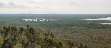 Panoramic view from cerro Orchilla Royalty Free Stock Image