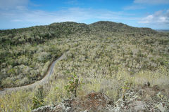 Panoramic view from cerro Orchilla Royalty Free Stock Photo