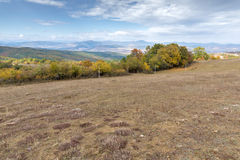 Panoramic view of Cherna Gora mountain, Bulgaria Royalty Free Stock Image