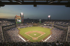 Panoramic view of Citizens Bank Park Royalty Free Stock Photography