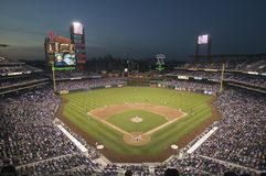Panoramic view of Citizens Bank Park Stock Images