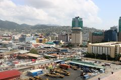 Port of Spain, Trinidad and Tobago Stock Photo