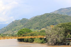 Panoramic view of the city. La Pintada, Antioquia, Colombia. Stock Photography