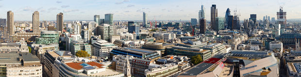 London panorama Royalty Free Stock Photo