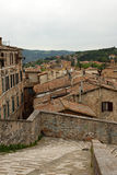 Panoramic view of the city of Perugia Royalty Free Stock Photos