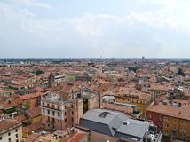 Panoramic view of the city Verona in Italy Stock Image