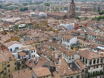Panoramic view of the city Verona in Italy Stock Photos