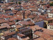 Panoramic view of the city Verona in Italy Royalty Free Stock Image