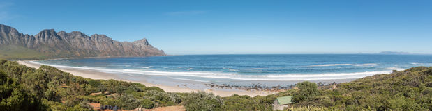 Panoramic view of the coastline on Clarence Drive Royalty Free Stock Photos