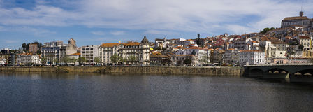 Panoramic view Coimbra Portugal Stock Photography