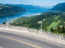 Panoramic view of Columbia River Gorge  - Oregon, USA royalty free stock photos