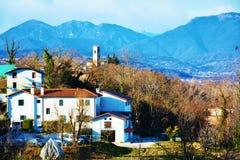 Panoramic view of Conegliano Veneto, Treviso, Italy Royalty Free Stock Photography